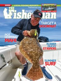 The Fisherman Magazine July 2019 Issue cover