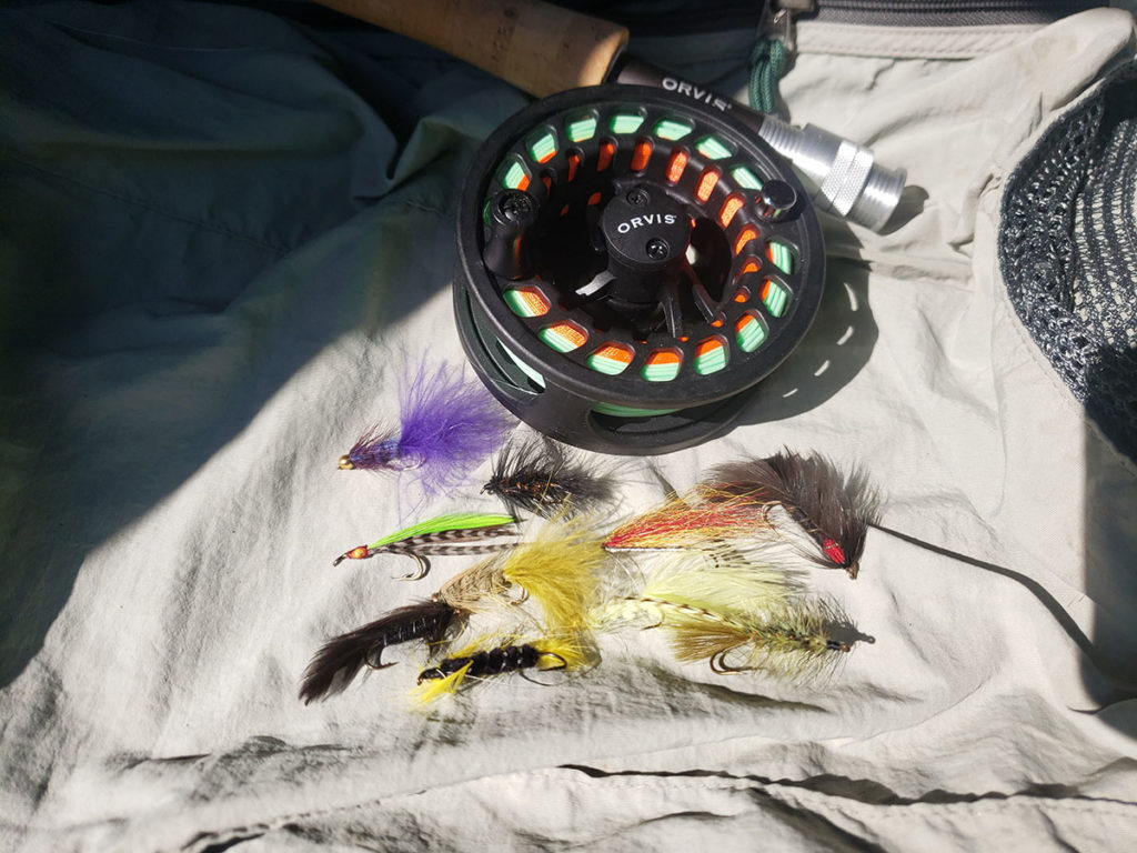 Wet flies, nymphs and streamers
