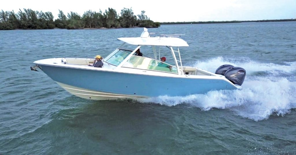 Boat Review Cobia 330 DC 2